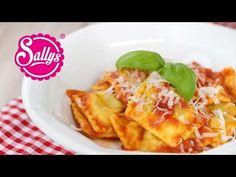 Sallys Blog - Ricotta-Spinat-Ravioli in Tomatensoße