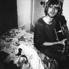 Kurt Cobain In Pictures