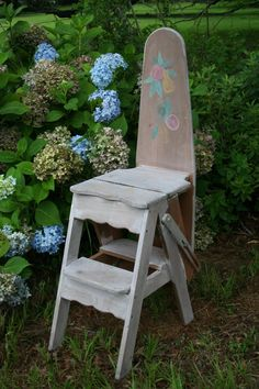 Chair Step Stool Ironing Board Wayfair Rocking 18 Best Woodboard Images Iron Woodworking Carpentry Antique Vintage 3 In 1 Jefferson Wood Kitchen High Ladder Country Farm Rustic Ranch Decor