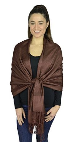Belle Donne-Womens Paisley Pashmina Warm Shawl Scarf Tender Colors- Dark Brown Belle Donne http://www.amazon.com/dp/B01B6H6KFE/ref=cm_sw_r_pi_dp_zv7Swb1Y2A61V