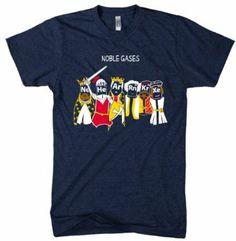 'Noble Gases' Chemistry Joke Shirt