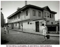 The Museum of Vuk Karadžić i Dositej Obradović in Belgrade ~ Serbia