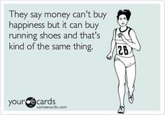 And running clothes etc. lol
