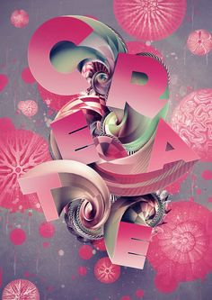 via 25 Creative Typography Designs