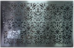 laser cut art screen | laser cut stainless steel for wall paneling