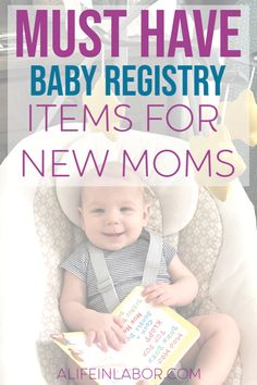 Baby Must Haves For The First Year: Baby Products Experienced Moms Swear By. These are the baby must-haves that every new mom needs on her baby registry. Don't miss these tips from a mom of two. Baby Registry Checklist, Baby Registry Items, Baby Items, Pregnancy Must Haves, Baby Must Haves, Pregnancy Tips, Happy Mom, Happy Kids, Newborn Essentials