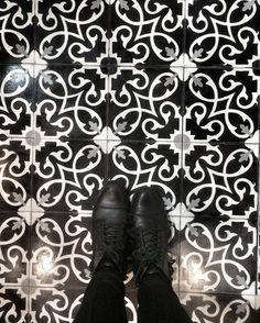 Tile Tuesday   #tile #tileaddiction #tiletuesday #ihavethisthingwithfloors #ihavethisthingwithtiles #whereistand #moroccantiles #patternedtiles #design #designiseverywhere #ilookdown #interiordesign #handpaintedtiles #tise2016 #floors #inspiration #motivation #interiors #interiordesignstudent #boots #bootsandtile # # # # # by sobadash