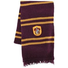 HARRY POTTER - HARRY POTTER GRYFFINDOR SCARF - Tops Magic » Costumes... ❤ liked on Polyvore featuring accessories, scarves, harry potter, gryffindor and hogwarts