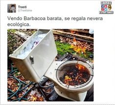 10 Creative Recycling DIY Grill, Bbq and Fire Pit Projects: You can make a DIY grill or fire pit from almost any object! A tire rim, Horseshoes, Machine drum, car parts. Take some inspiration here! Grill Diy, Grill Party, Camping Grill, Camping Stove, Bbq Party, Barbecue Original, White Trash Party, Redneck Party, Redneck Gifts