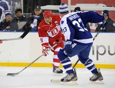 Wings take second game in shootout- Winter Classic Alumni Game 2013