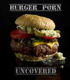 Ultimate Backyard Cheese Burger Hamburger Buns, Hamburger Recipes, Ground Beef Recipes, Beef Burger Patty Recipe, Bacon Wrapped Burger, Gourmet Hamburgers, Butter Burgers, Burger Dogs