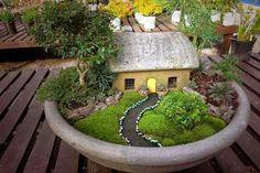Tuinieren op schaal.