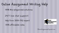#assignment #writing help