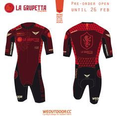 WEOUTDOOR Stylized — A Skinsuit for short races: Cyclocross,...