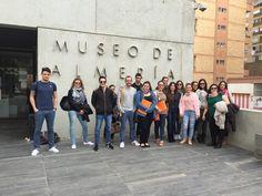 """Clase en el Museo de Almería. Alumn@s 2º GAP, curso 2014/15. Asignatura """"Información y Documentación Administrativa"""". Curso de formación (12/03/2015)"""
