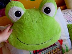 Coussin Grenouille !!!! ^-^