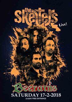 THE SKELTERS:  Σάββατο 17 Φεβρουαρίου @ Beerατής