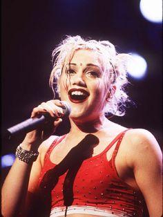 Gwen Stefani No Doubt 90s icons: gwen stefani