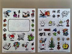 #doton #diary #Illustrationen mit ein wenig Farbe! Danke an Jana!  #klebepunkte #Illustrationen #Tagebuch #diy #doton #diary