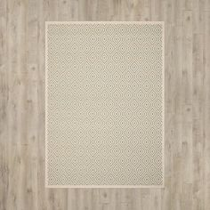"Varick Gallery Armenta Cream Area Rug Rug Size: 5'3"" x 7'7"""