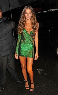 Izabel Goulart - Celebs Arrive at the Victoria's Secret Fashion Show After Party