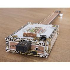 Cigar Box Guitar made by Nineboys Ltd in #Suffolk
