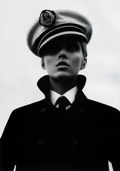 Anja Rubik -- I love when beautiful girls are dressed like boys.... something about it just gets me
