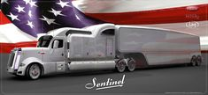 Old Time Trucking Companies | Peterbilt Sentinel Truck Concept Offers Classic and Elegant Appearance ...