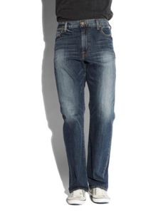 A What-to-Wear Guide to the Real Life Holidays | His Gameday Outing | 181 Relaxed Straight Denim | Lucky Brand