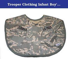 8b4807f9d2854 Trooper Clothing Infant Boy's ABU Air Force Bib (Camo). Air Force ABU  Airman · Daddys LittleLittle BoysBoy ...