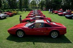 Ferrari 328 GTS during the 26th Annual Cavallino Classic Event at the Breakers Hotel in Palm Beach, Florida