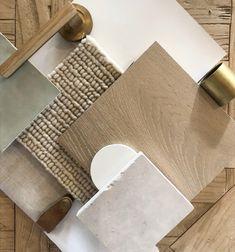 Mood Board Interior, Interior Design Boards, Casa Loft, Material Board, Design Palette, Style Deco, House Colors, Home Remodeling, Sweet Home