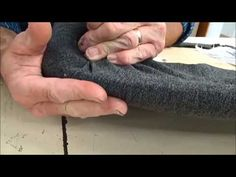 How To Upholster a Slip Seat (Dining Room Chair): DIY Tutorial, Step by Step - YouTube