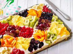 LECKER 09/2017: Tuttifrutti-Zitronenkuchen   LECKER