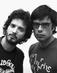 Flight of the Conchords - Bret McKenzie & Jemaine Clement Funny People, Good People, Funny Guys, Happy People, Funny Shit, Bret Mckenzie, Jemaine Clement, Flight Of The Conchords, Me Too Lyrics