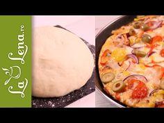 Este cel mai simplu si gustos aluat de pizza. Am incercat  mai multe variante si ingrediente, acesta il recomand la toti.