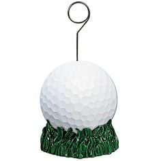 Golf Ball Photo Balloon Holder, Golf Balloon Weight