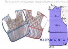 Baby Sewing Projects, Sewing Hacks, Baby Dress Patterns, Sewing Patterns, Dresses Kids Girl, Kids Outfits, Baby Hammock, Baby Frocks Designs, Bib Pattern