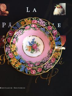 SOLD/ Paragon By Appt. H.M. Queen Fine Bone China Old English Garden Tea Cup & Saucer