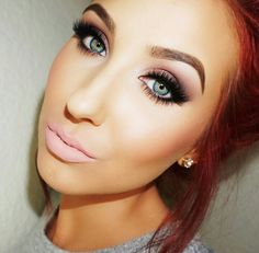 @JaclynHill wearing Anastasia Beverly Hills liquid lipstick in MilkShake.