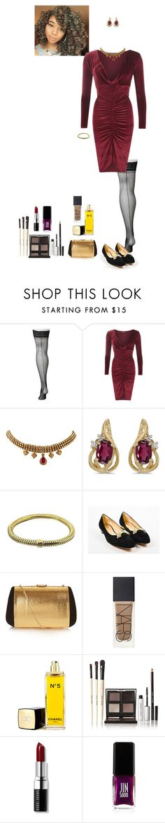 """""""cowl neck dress (Aoife)"""" by shulabond on Polyvore featuring Lane Bryant, WearAll, BillyTheTree, Roberto Coin, Charlotte Olympia, Nina Ricci, NARS Cosmetics, Chanel, Bobbi Brown Cosmetics and JINsoon"""