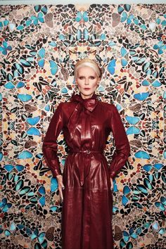 Daphne Guinness - Vogue Germany - January 2012