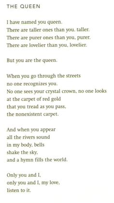 """The Queen"" by Pablo Neruda"