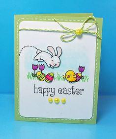 Lawn Fawn -  Happy Easter by Lynnette