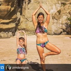 Love OUR happy customers ☀️ #Repost @zmdesigns with @repostapp.・・・Love being with my mini me! photo taken by M&E Legacy Photography. Mommy and me swimwear by @luloswimwear #mommy #mommysgirl  #momlife #treepose #yoga #beach #proudmom #healthymom