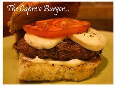 Caprese Burgers with Giada De Laurentiis Recipe - With Our Best