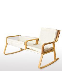 Kiigu koos titaga / Cradle + Chair –Yanes Wühl