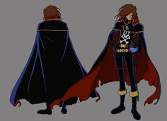 Galaxy Express 999 - Harlock
