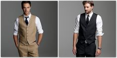 I do like a vest on a man, need to get one for my husband.  Trying to get him to wear one for my sister's wedding.
