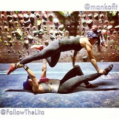 Two of the best. @mankofit @followthelita